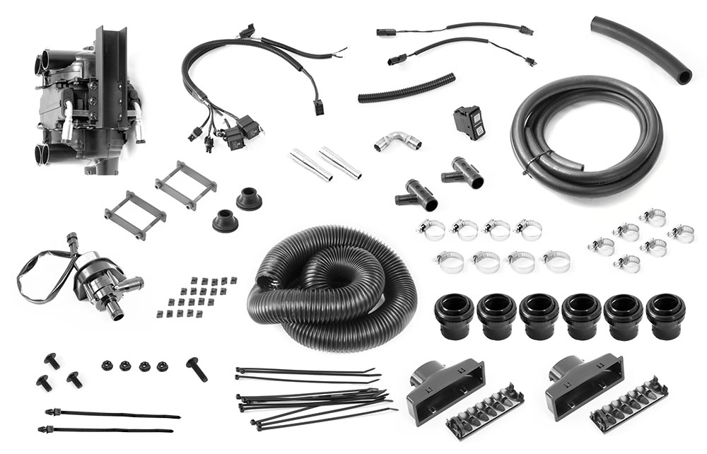 Kawasaki Mule Heater Kit By Stratos Climate Aftermarket