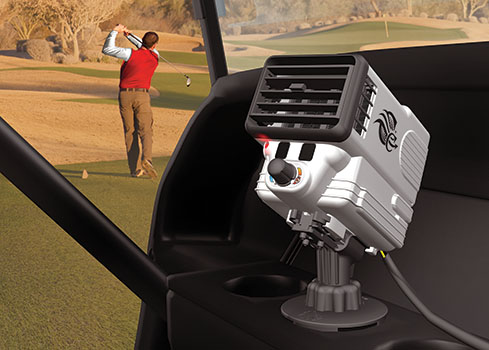 Climate Caddy Golf Cart Heater and Fan